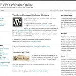 Bloggen met WordPress – Het Begin